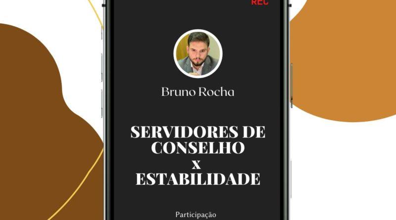 ASSISTA E PARTICIPE DA LIVE SOBRE OS SERVIDORES DOS CONSELHOS X ESTABILIDADE